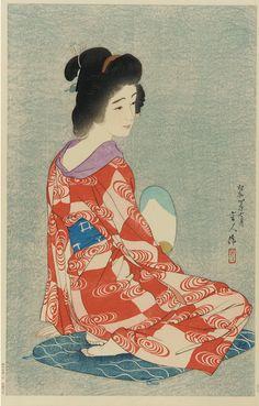 Torii Kotondo  ~ Long Undergarmeent ( underkimono)
