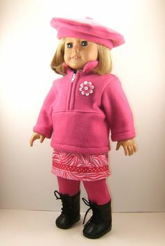 more handmade American Girl doll clothes .