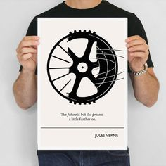 TOMORROW The future is but the present a little further on. - Jules Verne  From wagon wheel to nucleus, progress comes full circle.  SAVE 20% ON