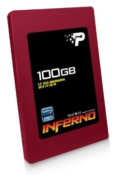 Patriot Inferno 100 GB SATA II 2.5-Inch Solid State Drive (SSD) with TRIM support PI100GS25SSDR by Patriot. Save 39 Off!. $219.99. The Patriot Inferno Solid-State Drive (SSD) is a great way to enhance the performance of your computer. When you make the upgrade from a standard hard disk to the Inferno SSD, your computer will boot-up faster, your applications and games will open quicker and your system will run quieter. Inferno is built around the SandForce SF-1222 SSD processor ...