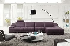 Marea Italian Leather Sectional