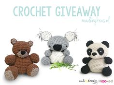 Last day to win one of these three crochet patterns for Hoooked RibbonXL or Fuzzilli
