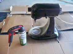 TOTALLY PAINTING MY KITCHENAID STAND MIXER!!! You Craft Me Up!: KitchenAid Makeover!!!