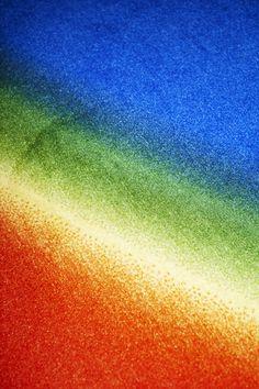 "Photoshop CS: 25800 by 9400 centimeters, 30 DPI, RGB, square pixels, default gradient ""Russell's Rainbow"", mousedown y=45000 x=224000, mouseup y=16000 x=235000 — Cory Arcangel's Official Portfolio Website and Portal"