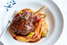 Michelle Bridges: quick and healthy recipe Lamb shank with cinnamon spiced mashed sweet potatoes