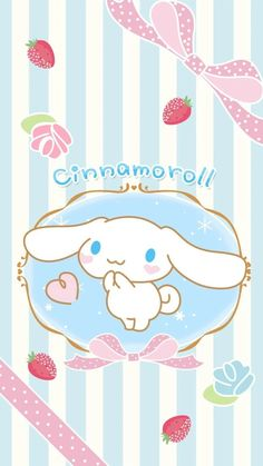 Cinnamoroll Sanrio Wallpaper, Hello Kitty Wallpaper, Kawaii Wallpaper, Colorful Wallpaper, Iphone Wallpaper, Sanrio Characters, Cute Characters, Sanrio Danshi, Chinese Dog