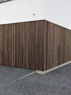 House Cladding, Metal Facade, Casa Patio, Small Modern Home, Fence Design, Houzz, Garden Projects, Garden Inspiration, Planer