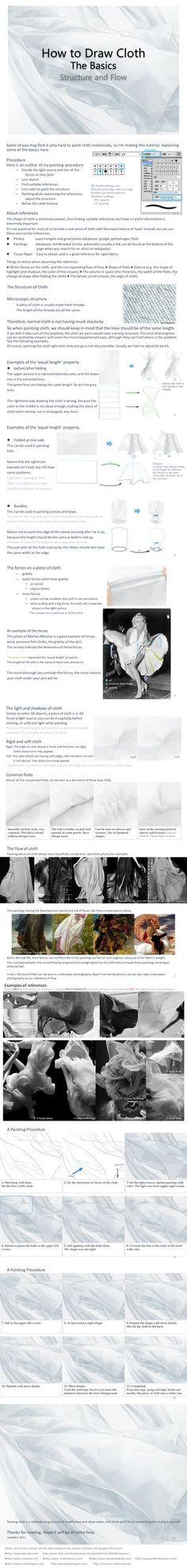 How to Draw Cloth ,How to Draw Fabric Folds Tutorial by Jane Mere,How to Draw Fabric Folds ,Resources for Art Students / Art School Portfolio @ CAPI ::: Create Art Portfolio Ideas at milliande.com , How to Draw Clothing Human Figure, Clothes, Folds, Fabric, Crease