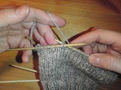 HÆLFELLING Her er ei oppskrift i tekst og bilder på hvordan man feller til hæl på lester. Diy And Crafts, Arts And Crafts, Arm Warmers, Crochet Earrings, Blogging, Threading, Tips, Art And Craft, Art Crafts