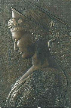 Donatello - St Cecilia as Artemis Contessina de Bardi was born in about 1390 and died in Florence in October 1473. Contessina de' Bardi married Cosimo de' Medici in 1414. Together the couple had two children: Piero 'il Gottoso' and Giovanni. #TuscanyAgriturismoGiratola