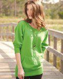 #1: J. America Ladies' Open Neck Tunic Sweatshirt. 8918 - http://ec2-184-73-114-131.compute-1.amazonaws.com/wordpress/1-j-america-ladies-open-neck-tunic-sweatshirt-8918/