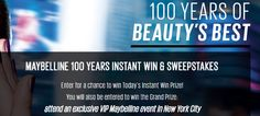 Maybelline Instant Win Game