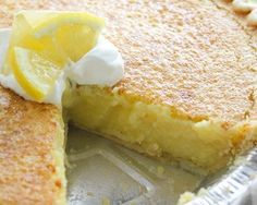 Recipe of today: Arizona Sunshine Lemon Pie