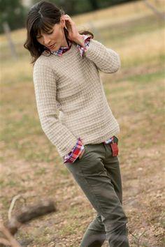Winnipeg Pullover - Media - Knitting Daily