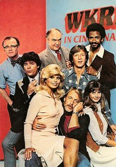 WKRP in Cincinnati - Loved this show. My husband even play on some of music tracks for this show. 80 Tv Shows, Old Shows, Great Tv Shows, Sean Leonard, Ed Vedder, Mejores Series Tv, Childhood Tv Shows, Vintage Television, Comedy Tv