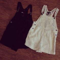 Lace Overalls..actually really cute