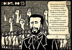 Elmano foi escolhido democraticamente como o candidato do PT à Prefeitura de Fortaleza. Ele agora vai às ruas para mostra o projeto que vai cuidar das pessoas. #Elmano13doPT