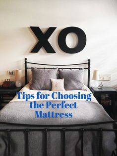 Tips for Choosing the Perfect Mattress