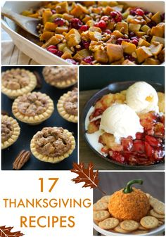Thanksgiving is about enjoying delicious food with your closest friends and family. Here are 17 Thanksgiving Recipes from this week's Link Party Palooza! Southern Thanksgiving Menu, Thanksgiving Cupcakes, Thanksgiving Recipes, Holiday Recipes, Hosting Thanksgiving, Thanksgiving Celebration, Thanksgiving Feast, Holiday Foods, Holiday Ideas