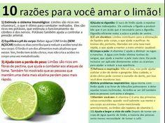 Limão e seus benefícios