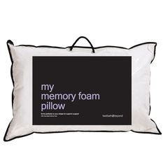 Memory Foam Pillow - Bed Bath & Beyond
