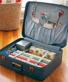 Dale nuevo uso a tus maletas viejas.
