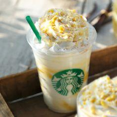 クリーミー バニラ フラペチーノ® with レモニー スワール Creamy Vanilla Frappuccino ® with lemony swirl, Seasonal Recommendations