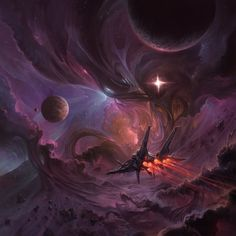 This artwork is a cover image for a music album'Enter Infinity' by Antti Martikainen, who creates awesome stuff! He has a great youtube channel with everything from epic viking music to sweet...