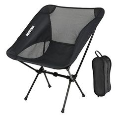 MARCHWAY Portable Folding Ultralight Compact Camping Chair - $28