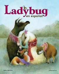 Ladybug en español: historias, poemas y canciones en una revista para jóvenes pequeños y niños.