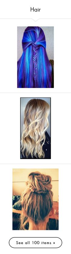 """""""Hair"""" by azizemourad ❤ liked on Polyvore"""