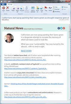 FREE NaturalNews.com Email Newsletter! As a NaturalNews.com subscriber, you'll receive an email news alert each weekday with the latest breaking news and alerts on natural health, green living and more — all from a 100% independent, honest viewpoint that you won't find in the mainstream media.