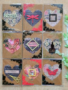 Pocket Letter Fun with Lisa Gregory-Nazario | Lindy's Stamp Gang PAPER BAG IDEA
