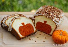 Expectation: Surprise pumpkin pound cake. | 19 Halloween Pinterest Fails