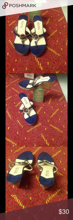 MICHAEL KORS Pretty Michael kors  shoes just like new Michael Kors Shoes Sandals