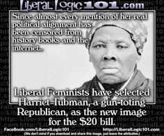 Harriet Tubman, a gun-toting Republican. Awesome! Remember censored history. 5/19/15 - Pookie's Toons - The Briefing Room