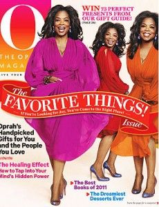 """I guess """"retirement Oprah"""" is still doing her favorite things for Christmas in her magazine!"""