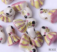 23x14mm Porcelain Charms Golden Fish Jewelry Necklaces Making Findings Beads http://www.eozy.com/23x14mm-porcelain-charms-golden-fish-jewelry-necklaces-making-findings-beads.html