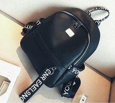 Modní batoh s přezkou pro ženy i studenty PL28