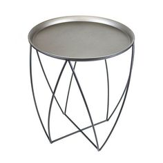 Metal Accent Table
