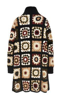 Granny coat modaoperandi.com/rosetta-getty-fw15/mixed-media-granny-square-cardigan