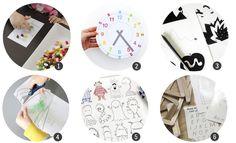 18 imprimibles gratis para aprender y jugar en días de lluvia | Cosas Molonas | DIY Blog