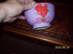 Tim Coffey Certified International, China Rose Bowl, Porcelain #TimCoffey