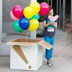 Make boyfriends's birthday (or any day!) a little better with a DIY balloon surprise on their doorstep! I think this is the best idea for a fun surprise present.