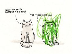 The three year old… by Gemma Correll