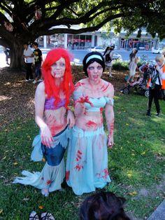 Zombie Disney Princess    SUBMITTED BY gemigemi