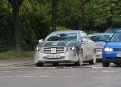 Erlkönige des neuen GLA weiterhin unterwegs | Mercedes-Benz Passion Blog