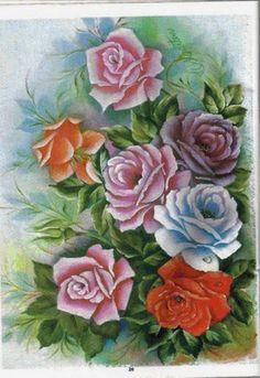 ruže,kytica - Схемы вышивки - he4lin6da - Авторы - Портал «Вышивка крестом»
