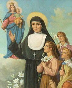 """""""Cuida delas por mim. São minhas filhas."""" (Nossa Senhora a Santa Maria Mazzarello)"""