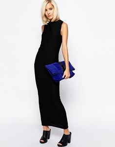 Buy The Laden Showroom X Renee London Textured Rib Maxi Dress at ASOS. With free delivery and return options (Ts&Cs apply), online shopping has never been so easy. Get the latest trends with ASOS now. Long Tight Skirt, Hobble Skirt, Unique Fashion, Fashion Ideas, Secret Sale, Latest Fashion Clothes, Minimalist Fashion, Showroom, Dress Skirt